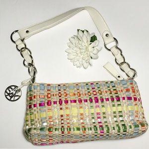 The SAK Multi Ribbon Colored Handbag